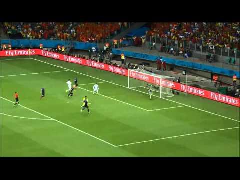 Goal - Arjen Robben 5-1 tegen Spanje