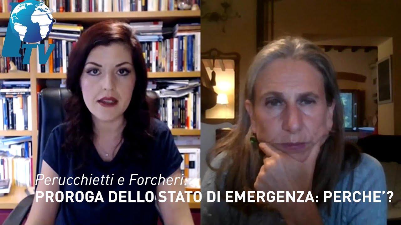 Perucchietti e Forcheri: proroga dello stato di emergenza: perché ...