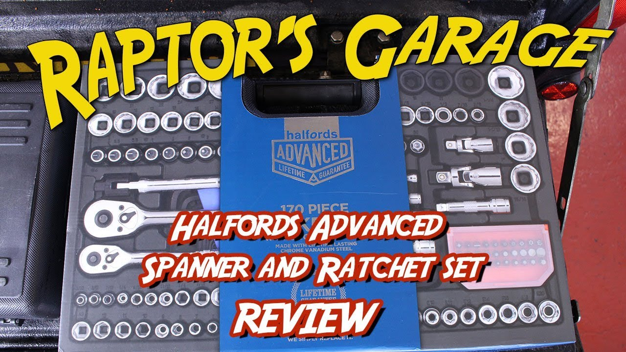 Halfords Advanced Spanner And Ratchet Set Review YouTube - Relay Switch Halfords