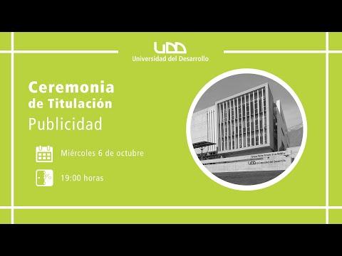 Ceremonia de Titulación   Publicidad   Sede Santiago