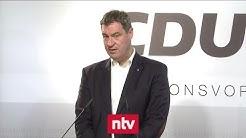 Unionsparteien wollen Groko-Aus vermeiden | n-tv