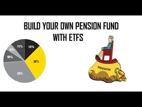Invest Like Pension Fund Managers.  Build Your Won Pension Fund.