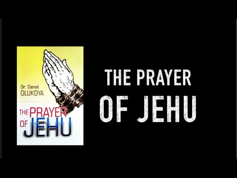The Prayer of Jehu?   [Plus Symptoms of Witchcraft]