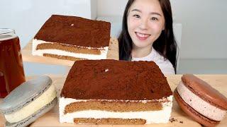 ASMR Tiramisu Cake Ice Cream M…