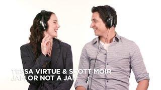 Tessa Virtue & Scott Moir play Jam or Not a Jam
