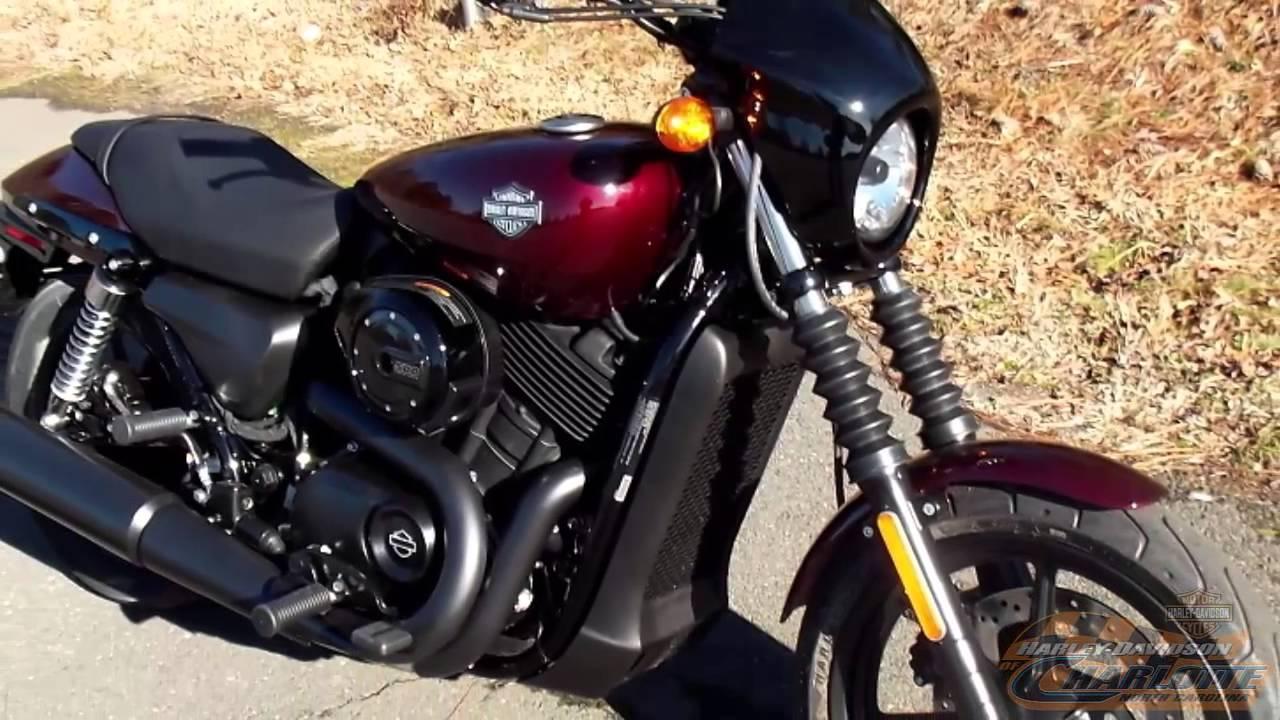red harley davidson street 500 north carolina (704) 847-4647 - youtube