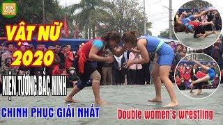 Giải Nhất Vật Nữ Hội Vật Làng Dưỡng Mông 2020 | Đấu Vật Nữ Hay Nhất 2020| Women's wrestling