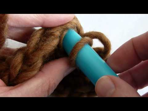 Stitch Scene: How to Back Post Crochet (bpsc) (bpdc)