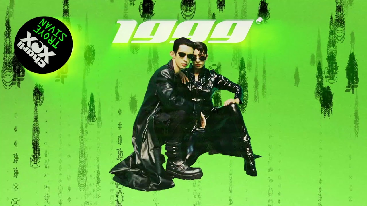 1999 by Charli XCX & Troye Sivan single cover art.