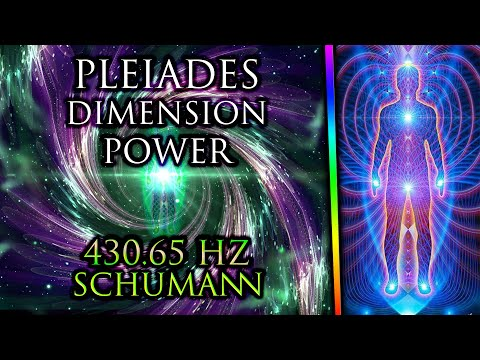 PLEIADES Music ꩜ Remember Who You Are ✦ DNA Repair ✦ Spiritual Journey ꩜ 430.65 Hz Shamanic Drums