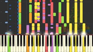Video Chipmunk Christmas On Piano [SYNTHESIA] download MP3, 3GP, MP4, WEBM, AVI, FLV Mei 2018