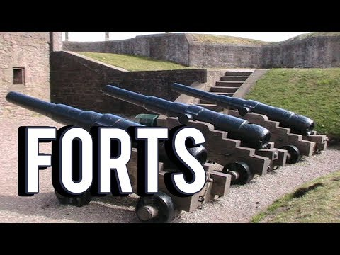 HOW MANY CANNONS TILL BOOM - Forts Multiplayer 4v4