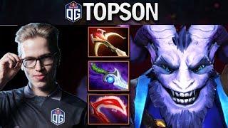 OG.TOPSON GOES MIDLANE WITH RIKI - DOTA 2 7.23f GAMEPLAY