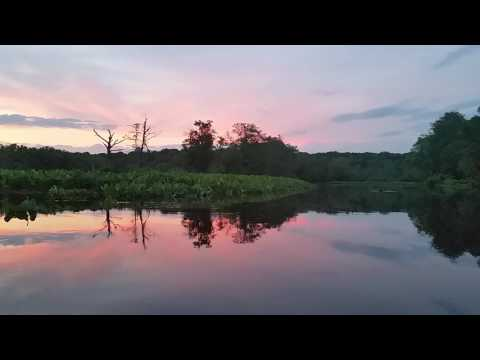 Sunset Paddle on the Rancocas Creek