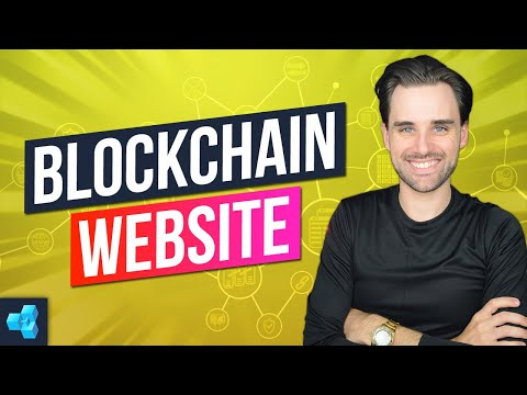 How To Build A Blockchain Website: How To How To Build A Blockchain App - PT5