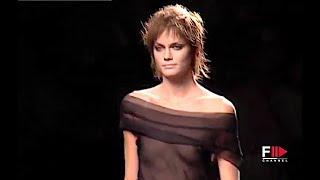 ALBERTA FERRETTI Spring Summer 2002 Milan - Fashion Channel