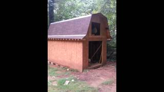 Gambrel Roof, Barn Roof, Shed Update 1