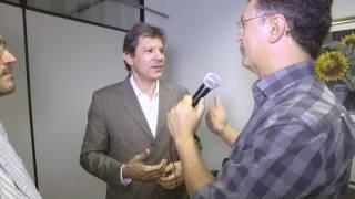 Entrevista com o Ex prefeito de São Paulo Fernando Haddad