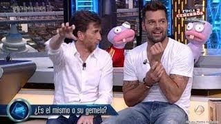 Ricky Martin no programa El Hormiguero