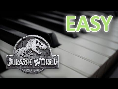 EASY - Jurassic World Theme (Piano Tutorial)