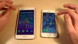 Huawei Nova Lite 2017 vs iPhone 5S