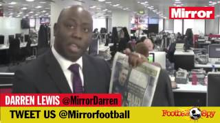 Watch the Mirror's Darren Lewis give a transfer update featuring West Ham and Man City