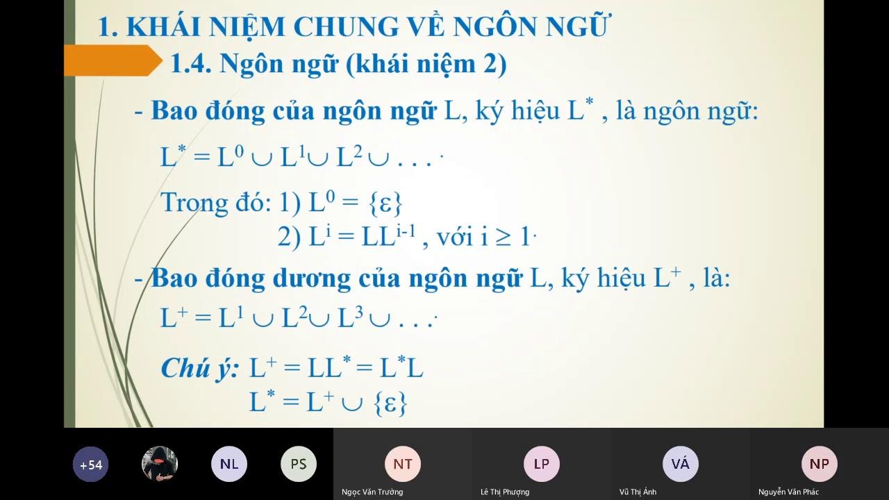 Download [Chương 1] Ngôn ngữ, hệ viết lại và văn phạm Buổi 3   21 04 2020