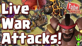 End of War! TH11 Dips? We will see! | @ClashBashing on Twitter | Clash of Clans| !Gawk |