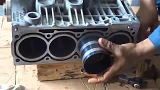 Assembler moteur golf 4 1.4  de A à Z  - تجميع محرك السيارة من الألف إلى الياء