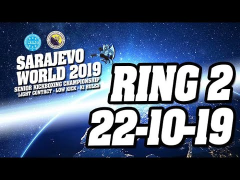 WAKO World Championships 2019 Ring 2 22/10/19