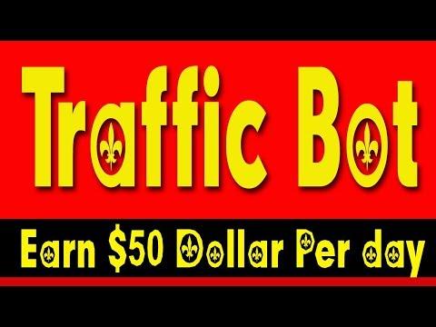 BEST TRAFFIC BOT | MONEY MAKING SOFTWARE | EARN $50 PER DAY GUARANTEED