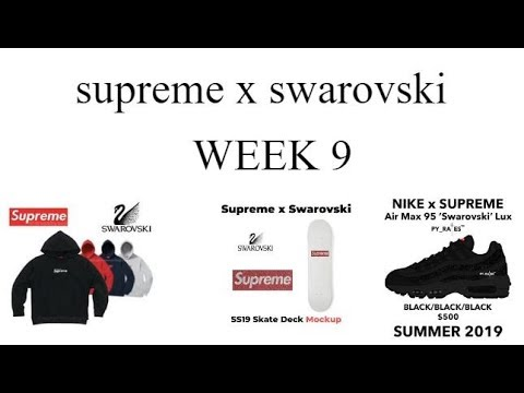 06e0b95e9d Predictions for supreme week 9 SS19 DROP - YouTube