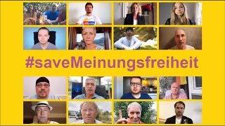 ES IST 5 VOR 12 #saveMeinungsfreiheit