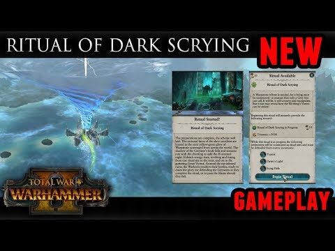 Total War: Warhammer 2 - Unlocking the Ritual of Dark Scrying (Skaven Campaign)