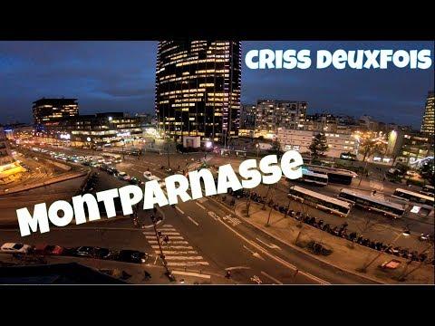Gare Montparnasse ; Coucher du Jour ; 3 Lumières ; Bus ; Paris ; France