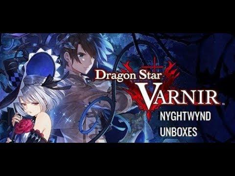 Dragon Star Varnir - VIdeo Game Unboxing |