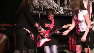 Liah Miller - 10 year old guitarist plays Sheryl Crow, The Who, AC/DC, Ozzy