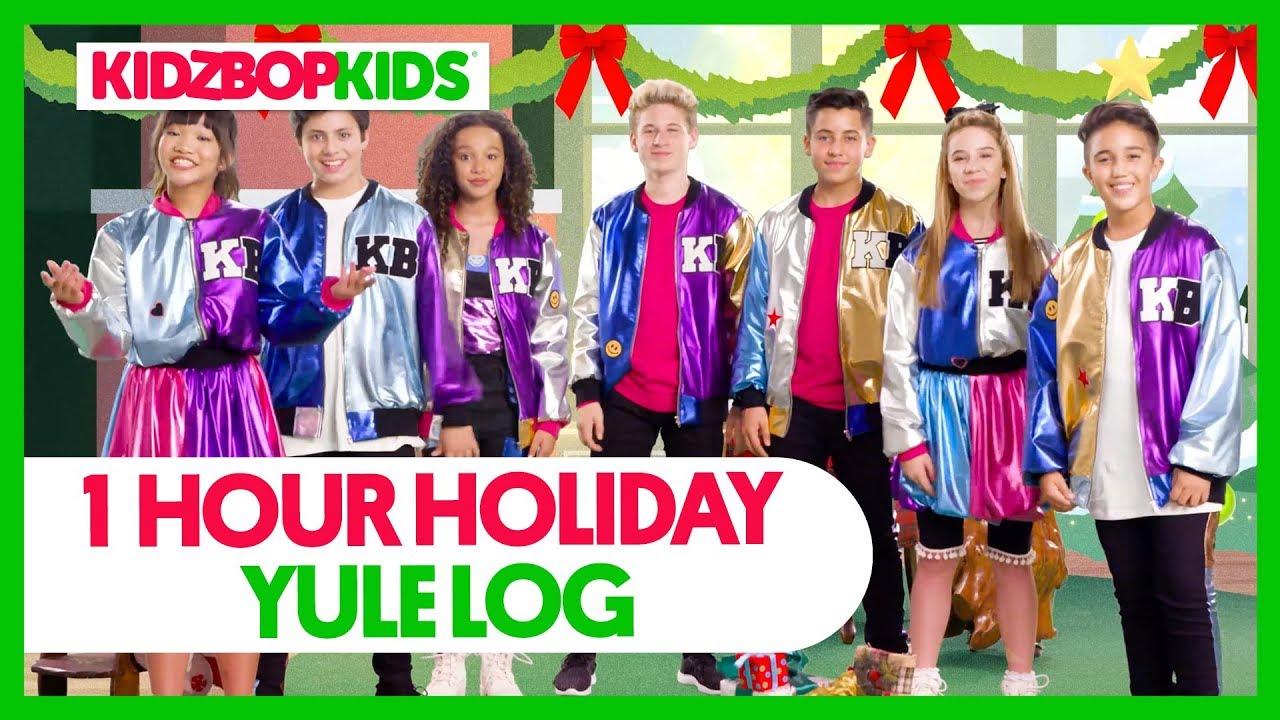 Kidz Bop Christmas 2020 3 Hours KIDZ BOP Kids 1 Hour Holiday Yule Log   YouTube