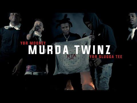 """Y&R mookey x Y&R Slugga Tee - """"murda twinz"""""""