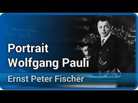 Portrait Wolfgang Pauli | Ernst Peter Fischer