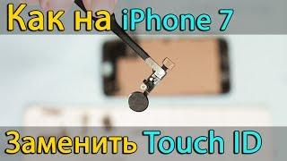 Замена кнопки Home - Touch ID в iphone 7