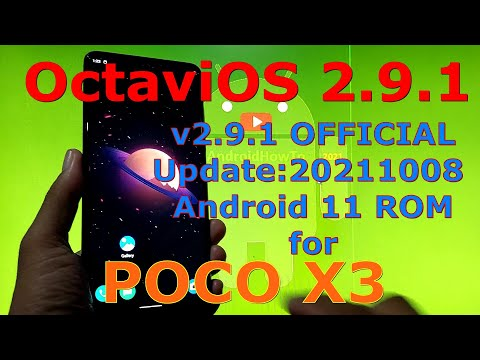 Octavi OS 2.9.1 OFFICIAL for Poco X3 NFC (Surya) Android 11