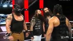 WWe Raw 21 september 2015   Roman Reigns, Dean Ambrose , Randy Orton Attacks Wyatt Family