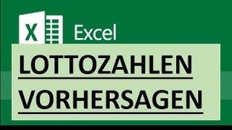 Excel Spaß - Die richtigen Lottozahlen für heute Abend per Zufallsgenerator vorhersagen