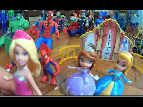 princesinha-sofia-the-first-filme-boneca-disney-barbie-super-princesa-homem-aranha-spiderman-marvel