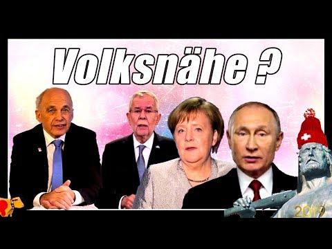 Putin volksnah | Merkel, Maurer & Van der Bellen am Volk vorbei