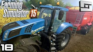 Farming Simulator 2015 : COW MANURE YAY! ( Gameplay ) E18