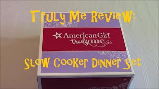 American Girl Slow Cooker Dinner Set | Truly Me