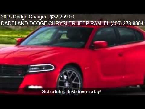 2015 Dodge Charger For Sale In Miami, FL 33157 At The DADELA. Dadeland  Dodge Chrysler Jeep Ram
