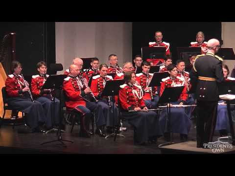 "SOUSA The Thunderer - ""The President's Own"" U.S. Marine Band"